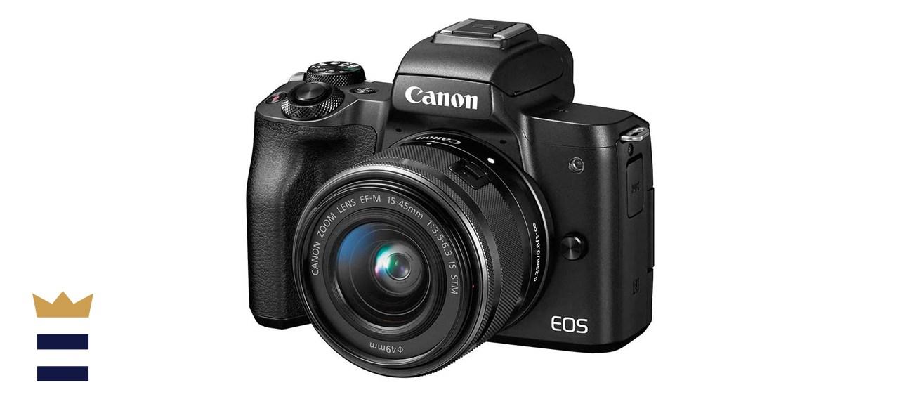 Canon EOS M50 Mirrorless Vlogging Camera