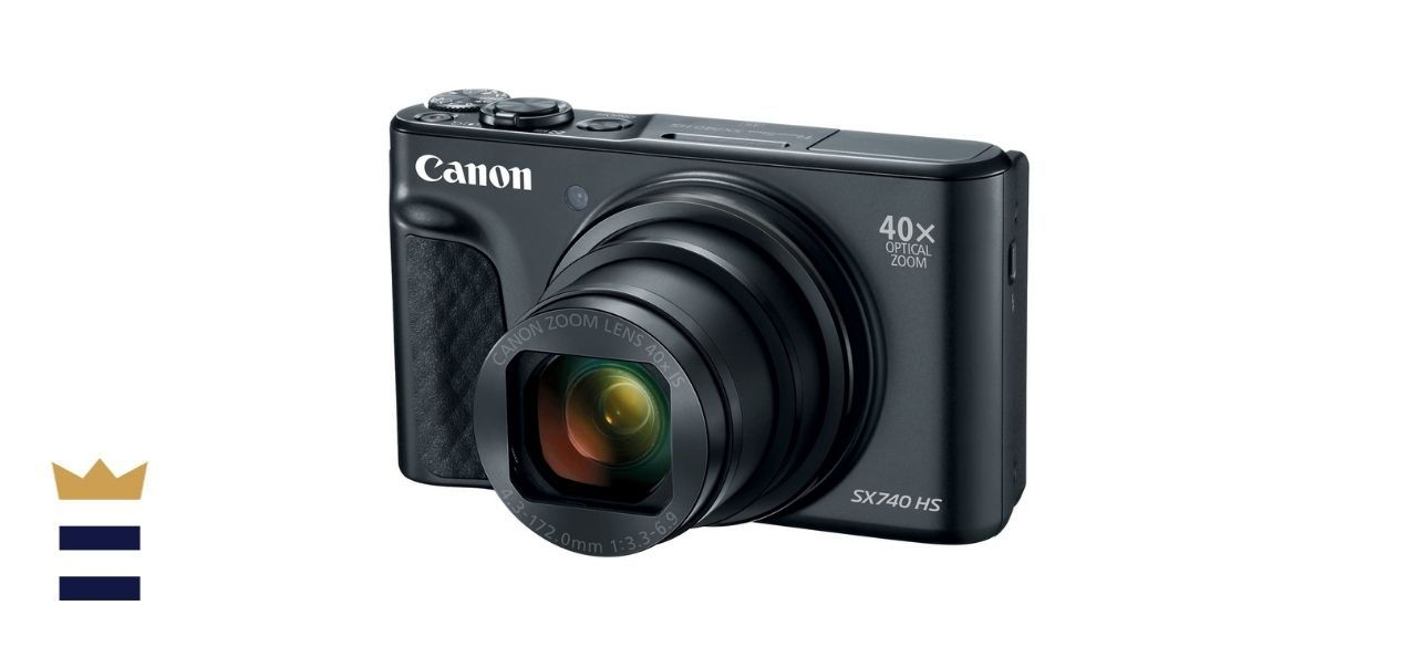 Canon Point-and-Shoot Digital Camera