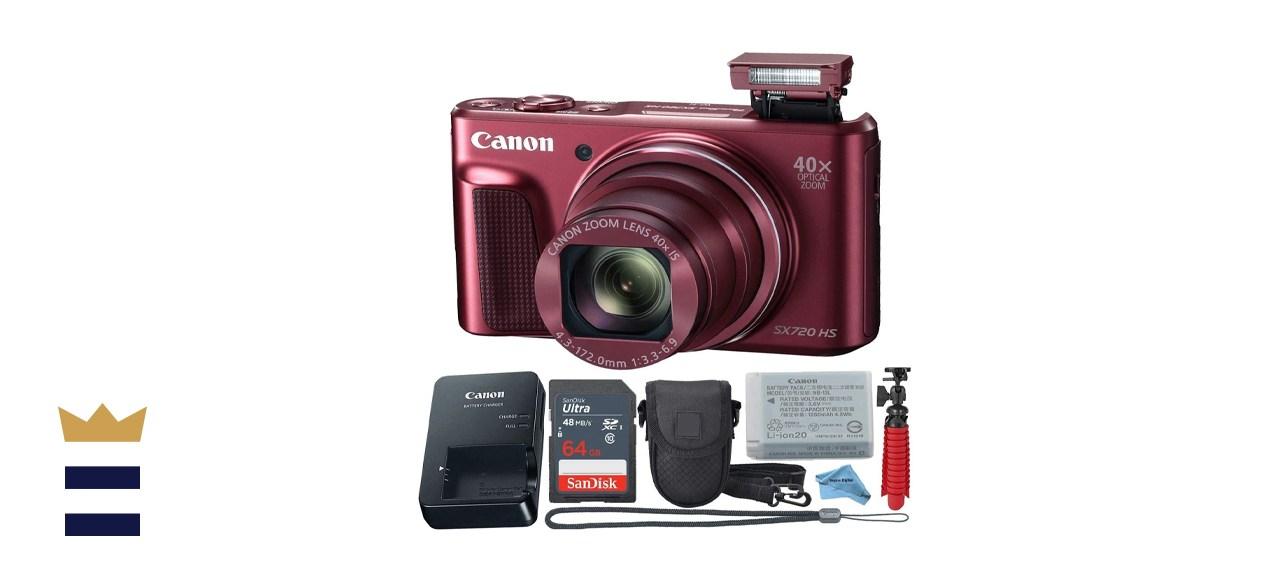 Canon Powershot SX720 Point Shoot Digital Camera