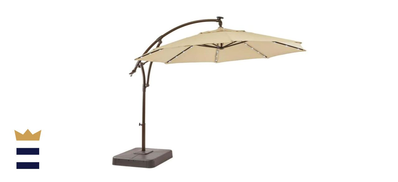 hampton bay cantilever umbrella