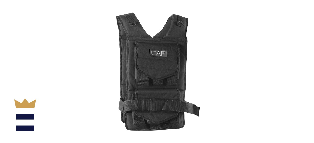 CAP Barbell 20-150-pound Adjustable Weighted Vest