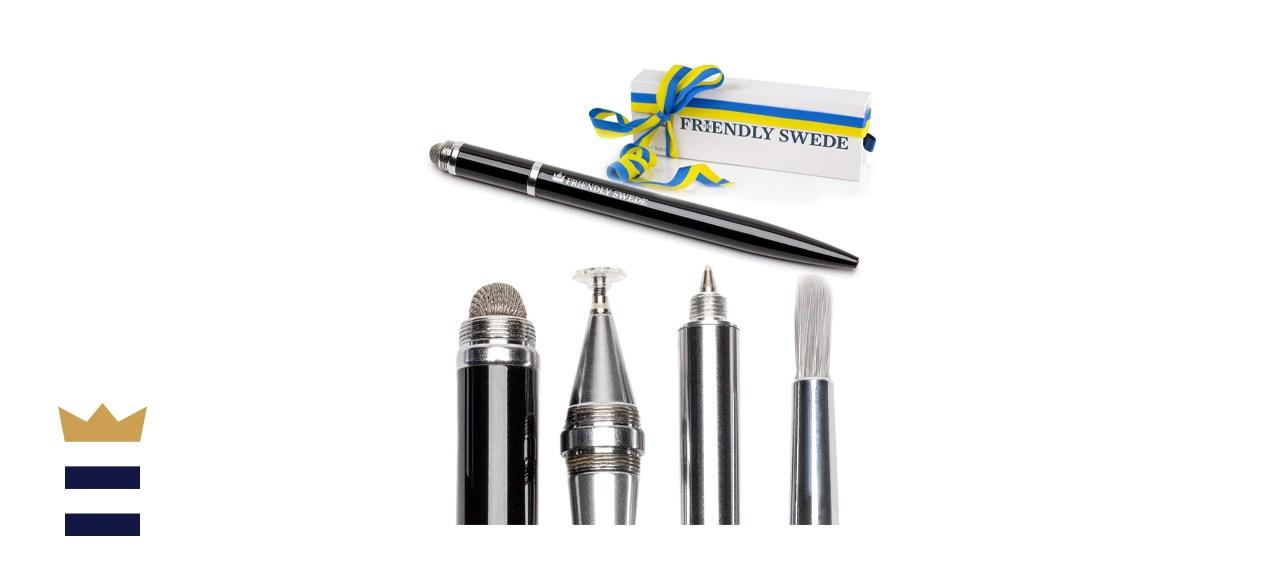 Capacitive 4-in-1 Stylus Pen