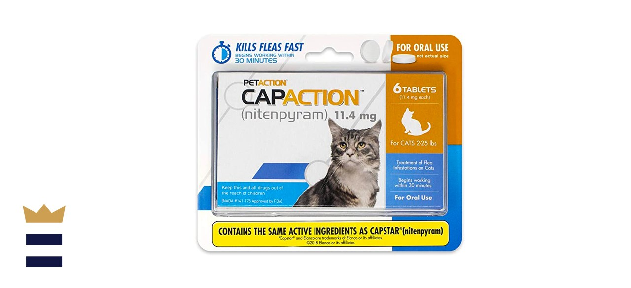 CapAction Oral Flea Treatment for Cats