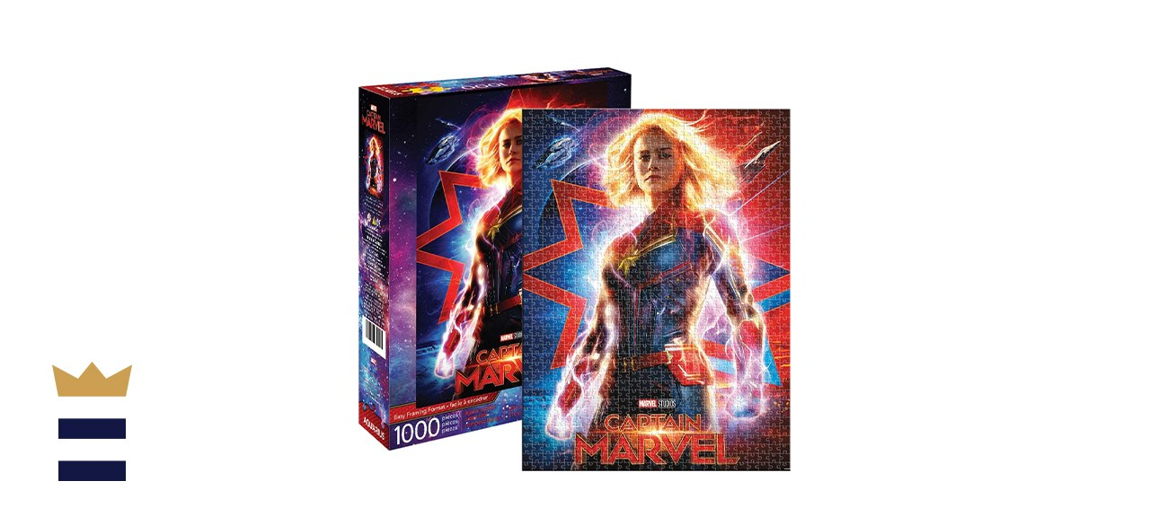 Captain Marvel Movie Puzzle