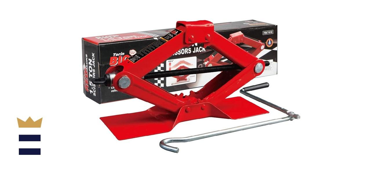 BIG RED T10152 Torin Steel Scissor Lift Jack Car Kit