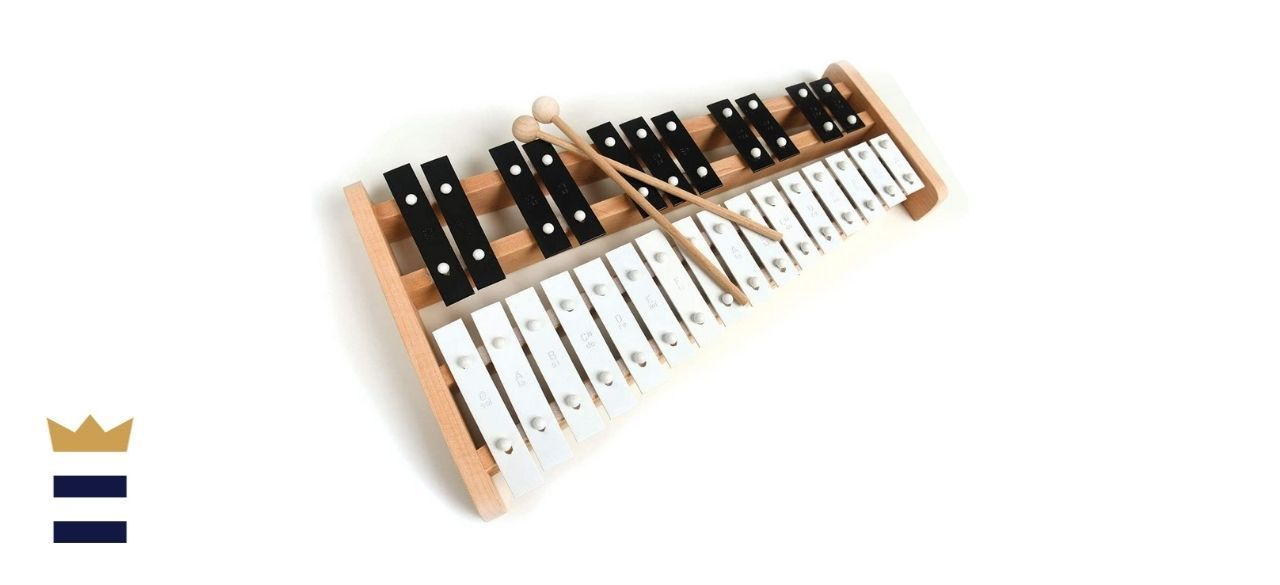 Cara & Co Professional Wooden Xylophone with 27 Keys