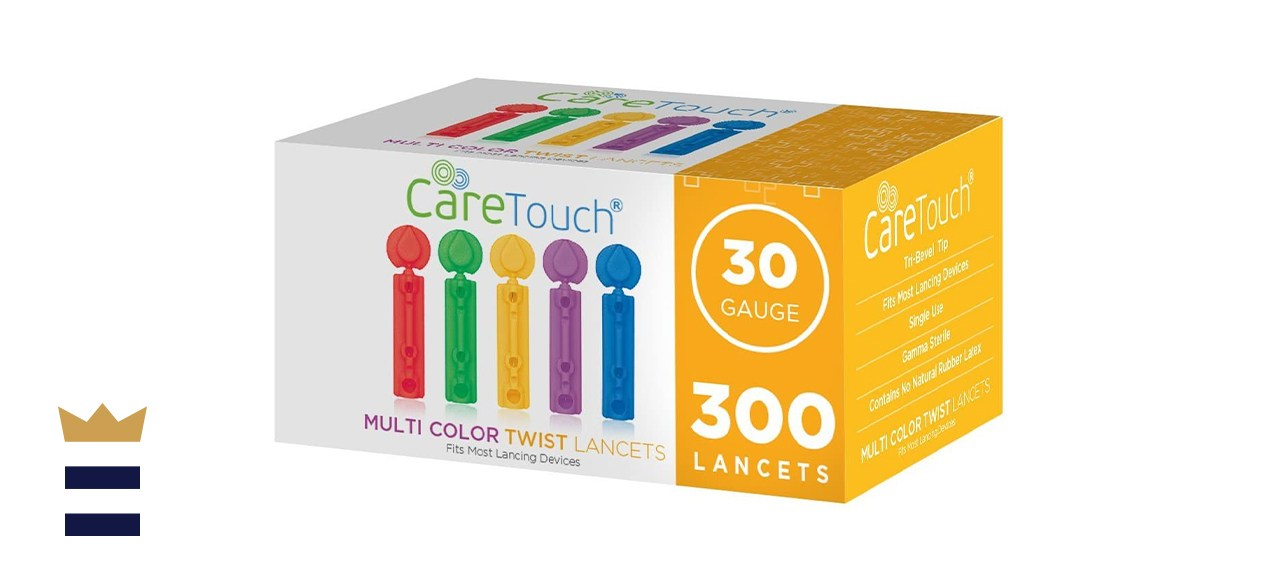 Care Touch Microlet with 300 Twist-Top Lancets, 30-Gauge