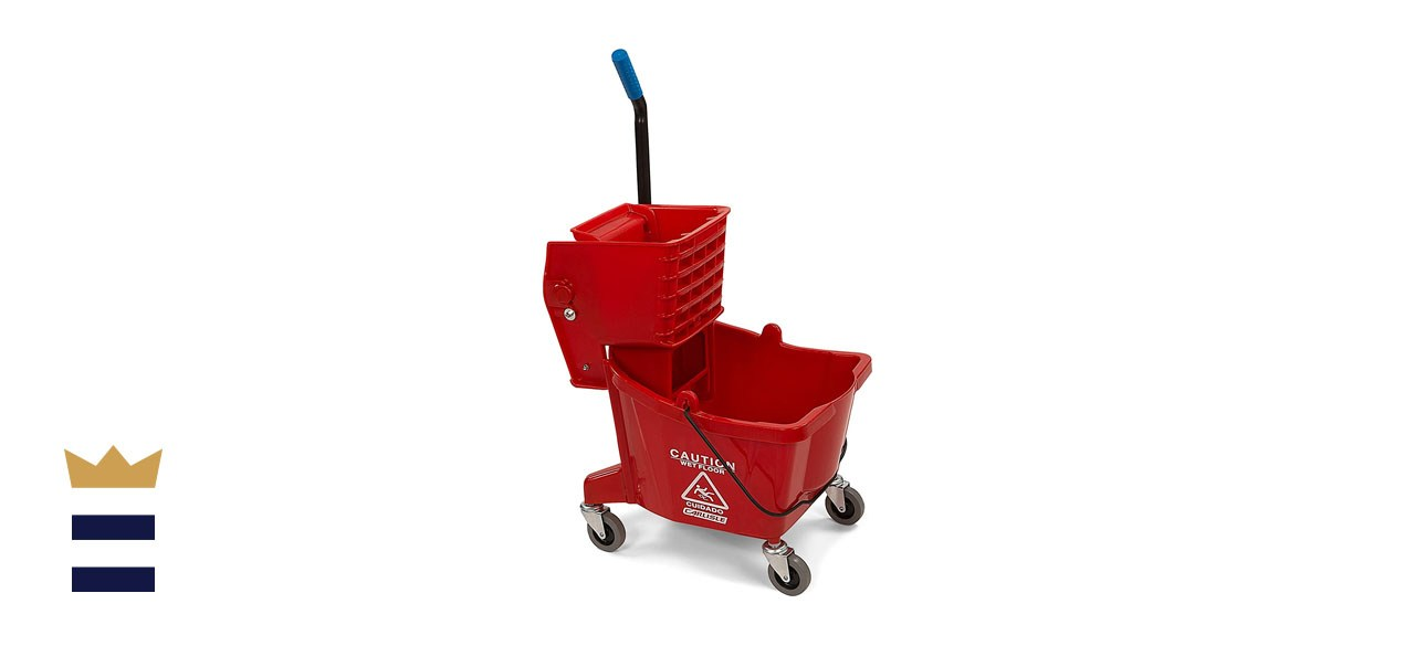 Carlisle Commercial Mop Bucket with Side Press Wringer