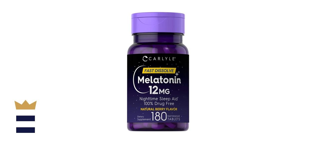 Carlyle Melatonin 12 mg Fast Dissolve 180 Tablets