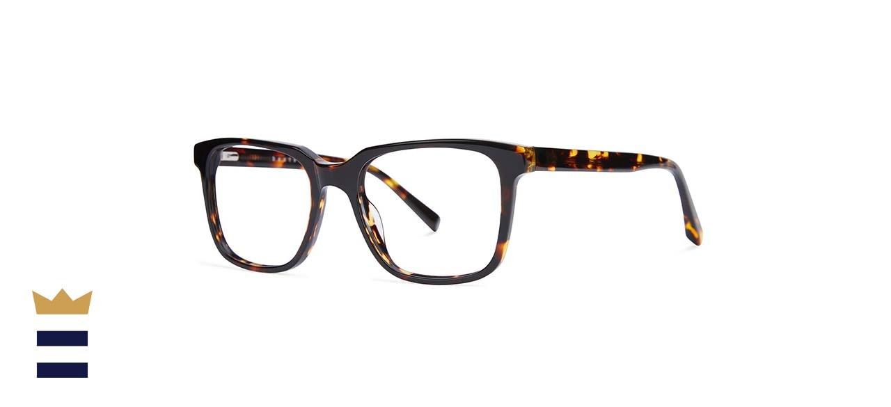 Baxter Blue Carter Blue Light Glasses (Maple Tortoise)