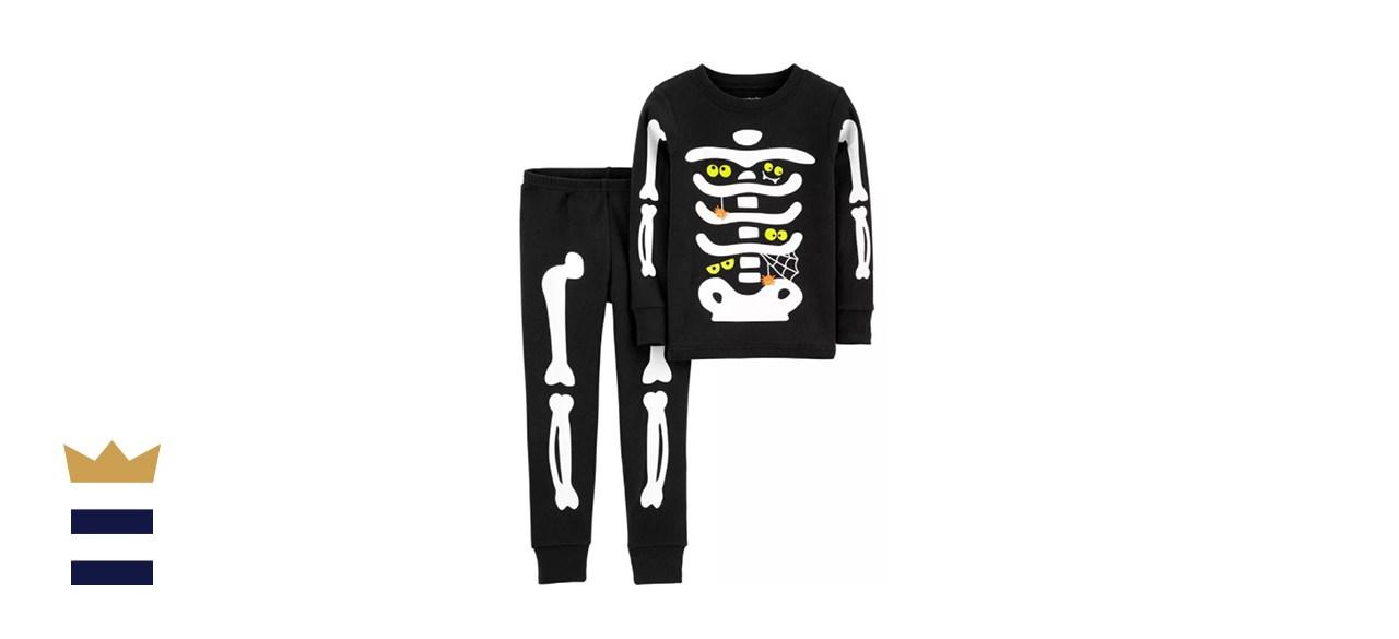Carter's 2-Piece Glow Skeleton PJs