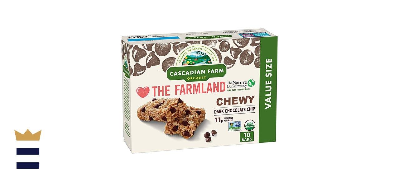 Cascadian Farm's Organic Chewy Granola Bars