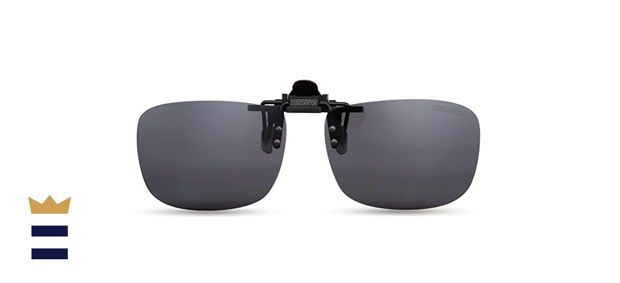 Caxman Rimless Clip-on Sunglasses