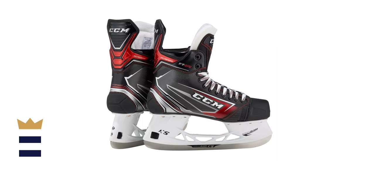 CCM Junior Jet Speed FT470 Ice Hockey Skates