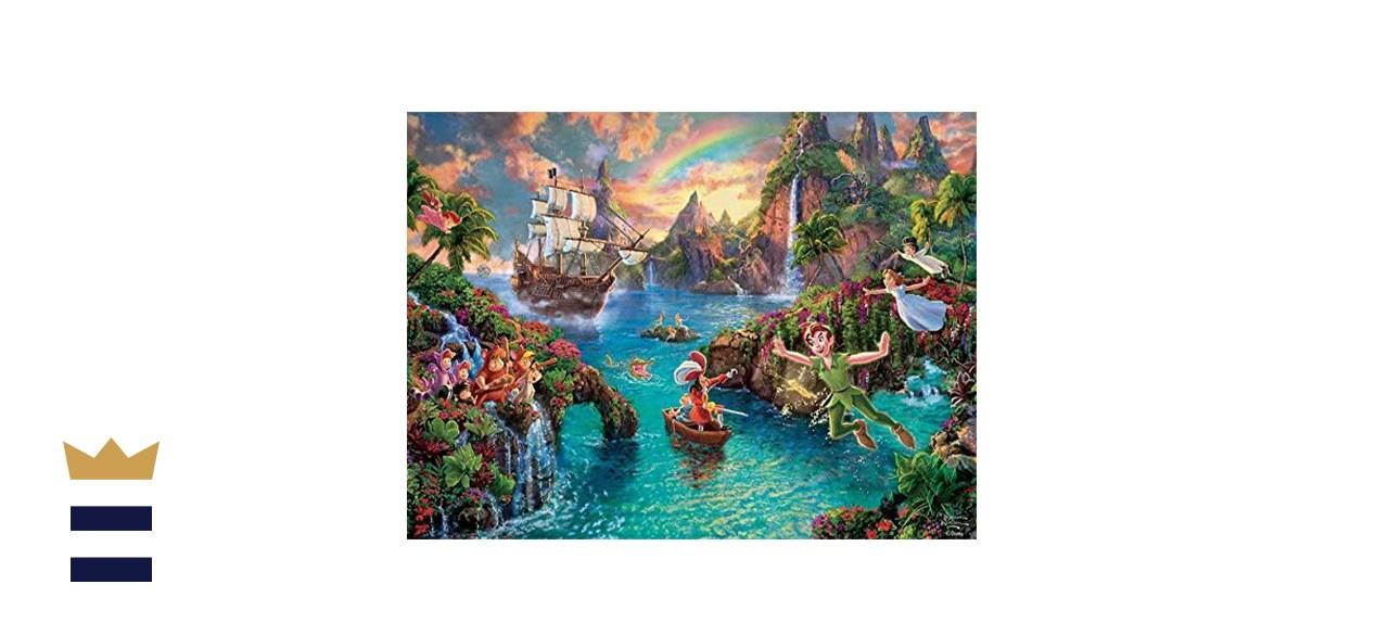 Ceaco Thomas Kinkade - The Disney Collection - Peter Pan Jigsaw Puzzle