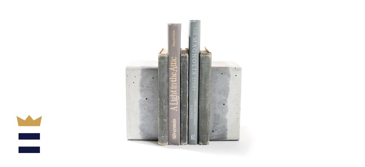 CedarwoodCreekCo Ombré Concrete Bookends