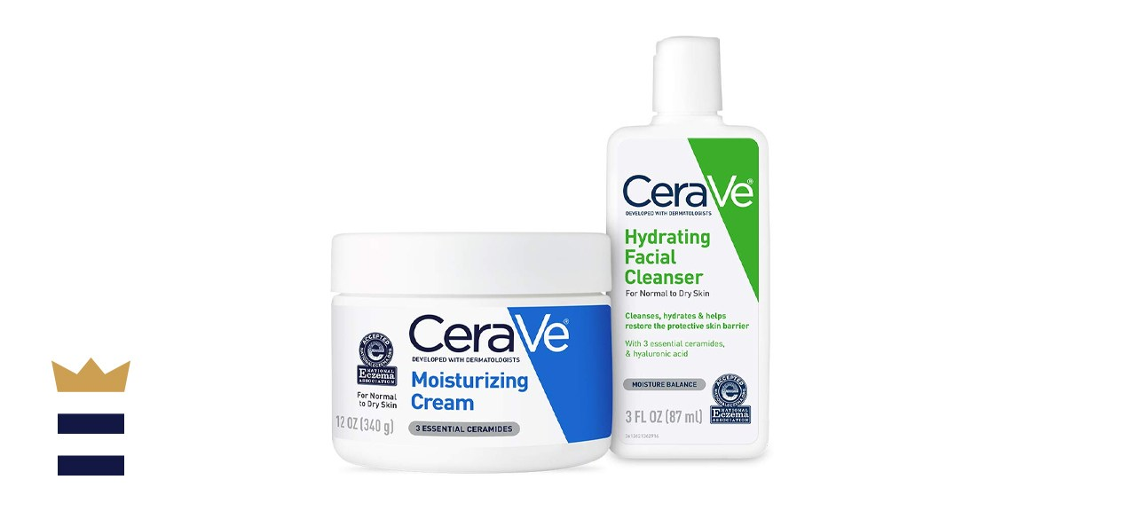 CeraVe Moisturizing Cream and Hydrating Face Wash Trial Combo