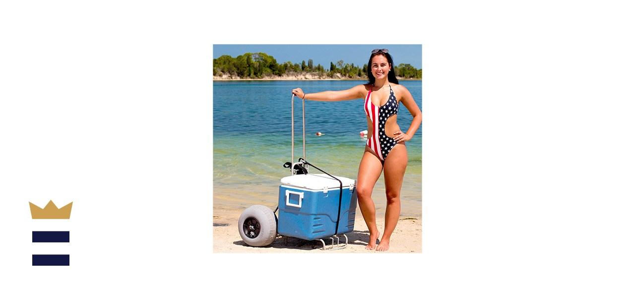 Challenger Mobility Folding Beach Cart