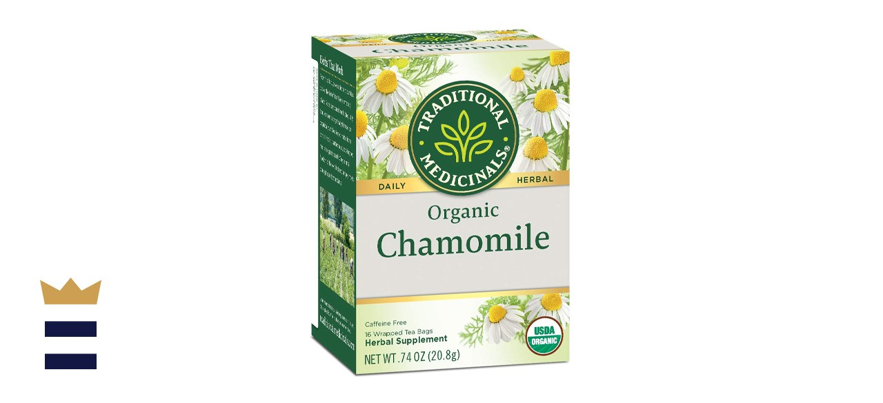 Traditional Medicinals Organic Chamomile Herbal Leaf Tea