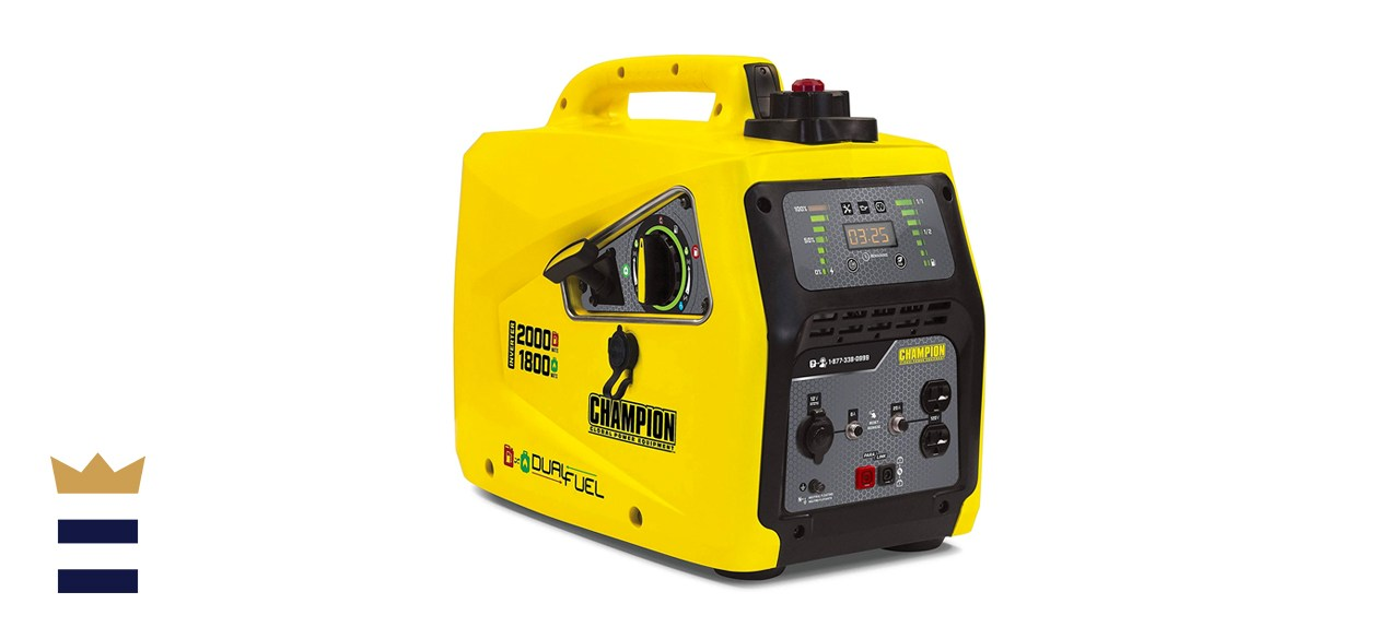 Champion Power Equipment 2000-watt Dual Fuel Inverter Generator