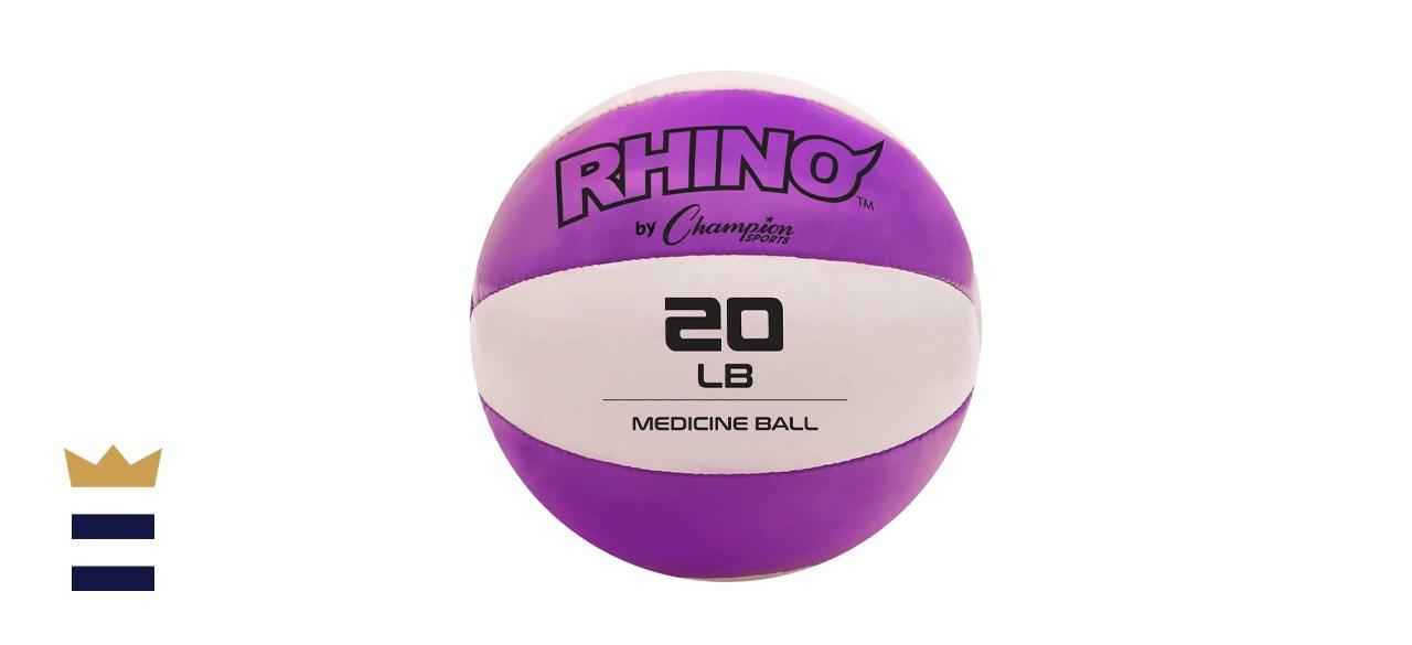 Champion Sports Rhino Medicine Ball