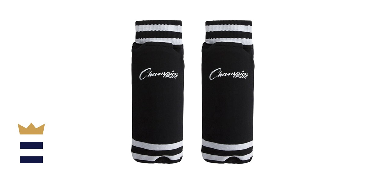 Champion Sports Youth Sock Style Soccer Shin Guards
