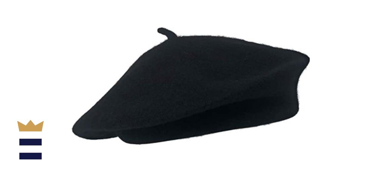 Chapeau Tribe Classic Stretchable Wool French Beret