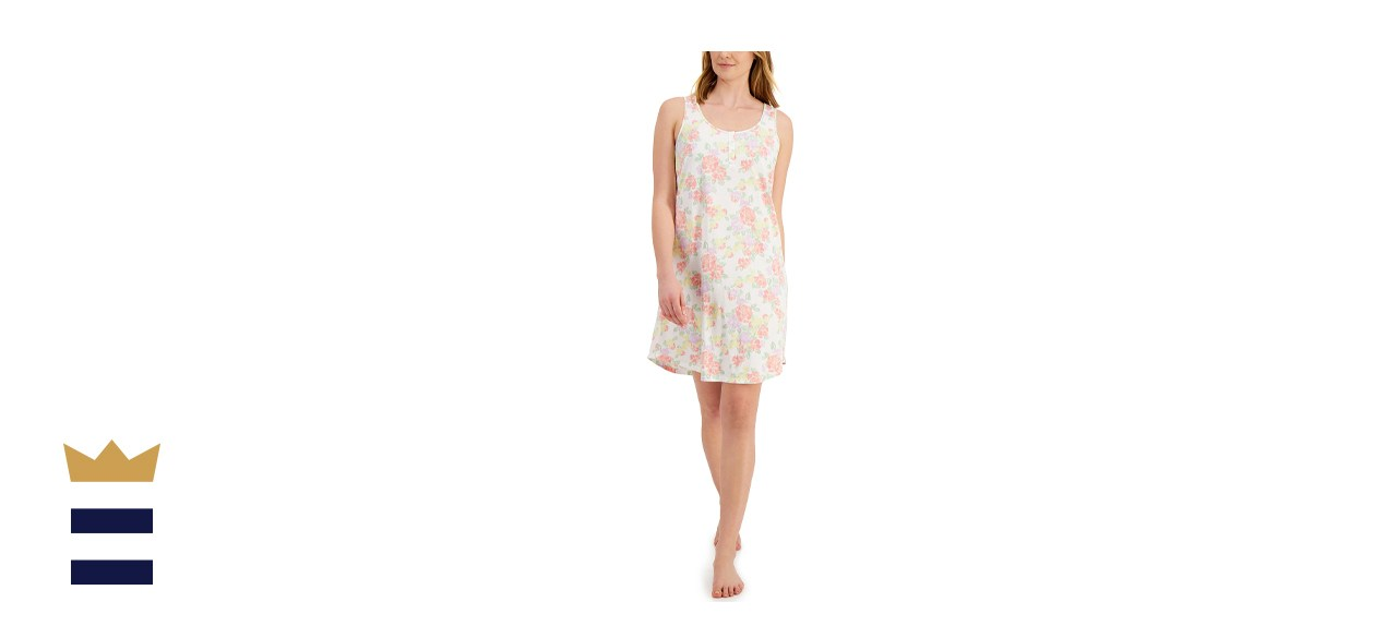 Charter Club Cotton Tank Chemise Nightgown