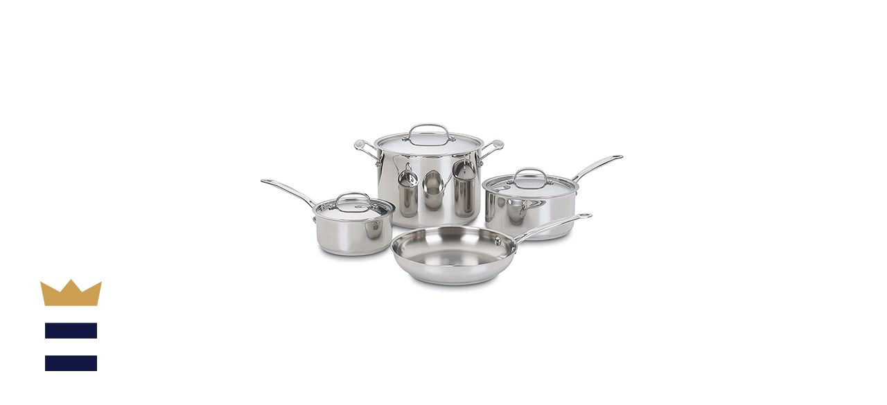 Chef's Classic Stainless Steel 7-Piece Set
