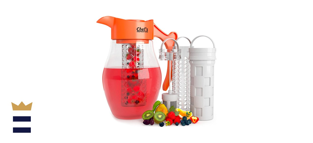 Chef's INSPIRATIONS 3 Core Infusion Water Pitcher