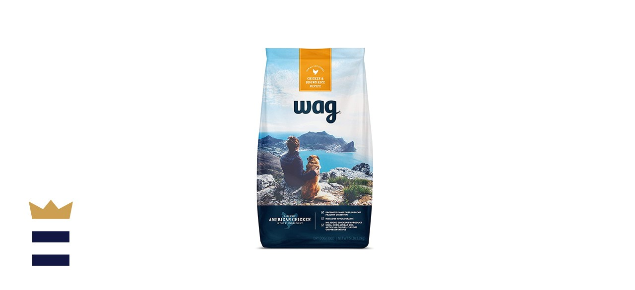 Wag Dry Dog Food Chicken with brown rice