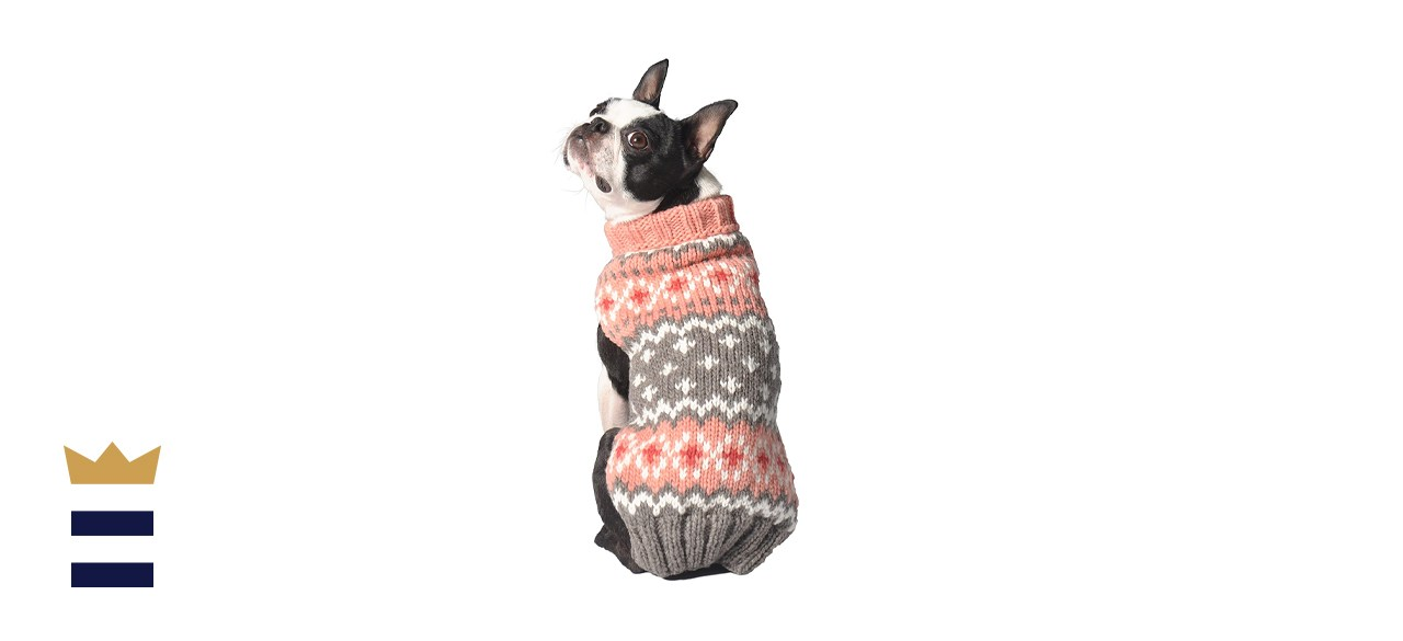Chilly Dog Fair Isle Sweater