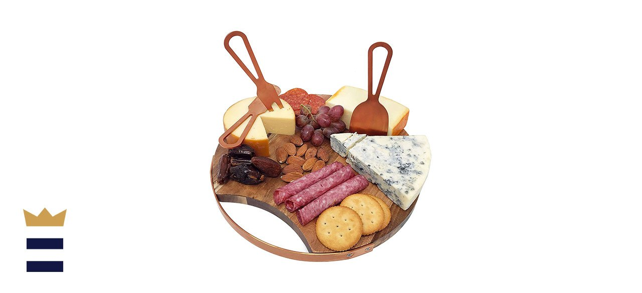 Choosy Chef's Magnetic Cheese Board and Utensils