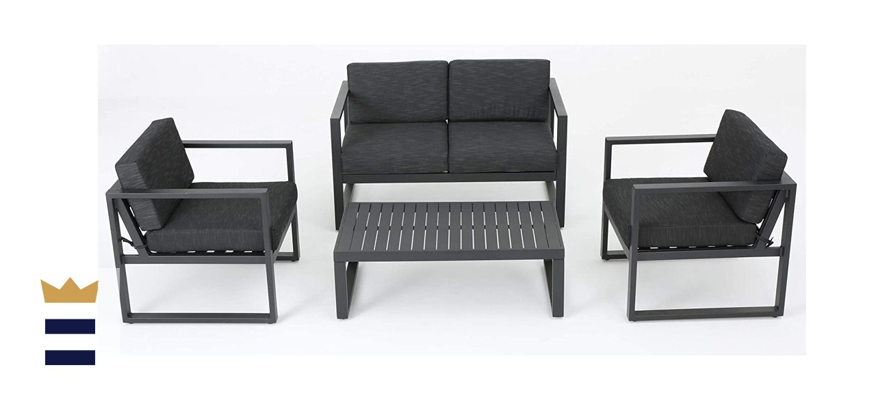 Christopher Knight Home Navan 4-Piece Chat Set