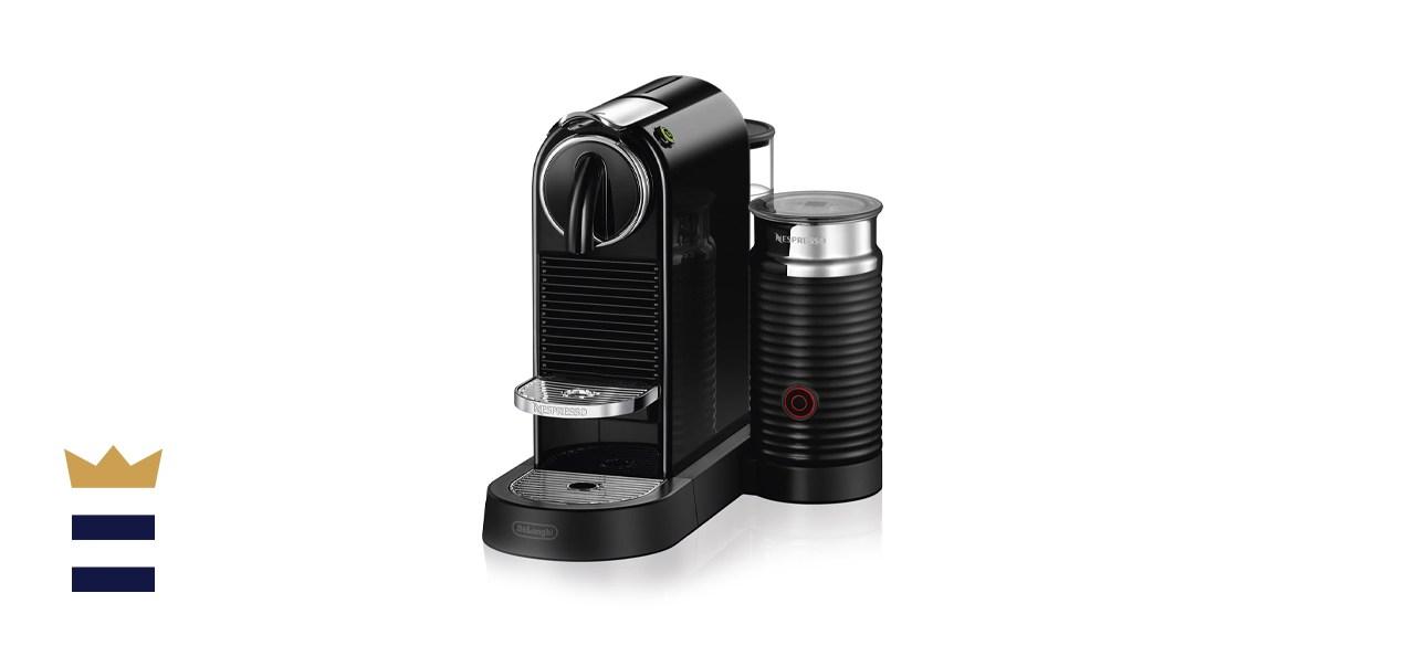 Nespresso Citiz Coffee and Espresso Machine by DeLonghi with Aeroccino
