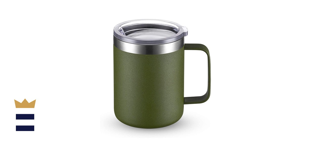 CIVAGO Stainless Steel Coffee Mug with Handle