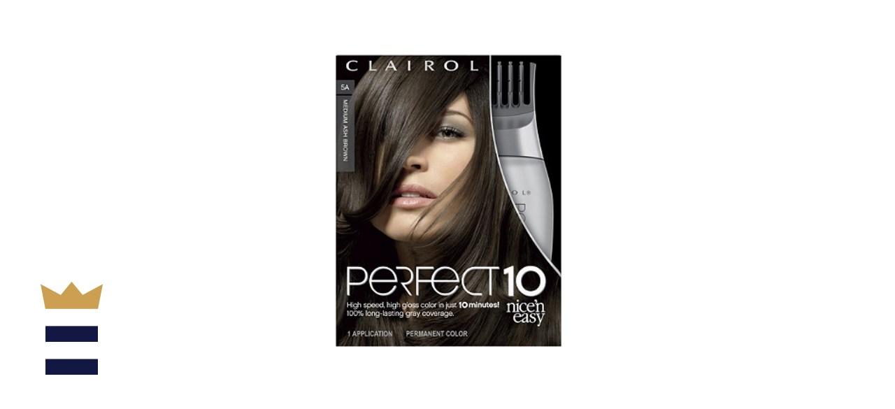 Clairol Perfect 10 Light Auburn Hair Color
