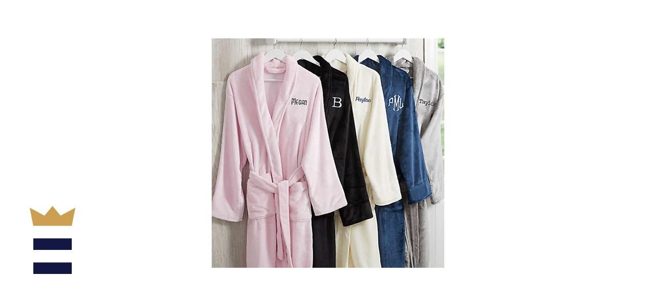 Classic Comfort Personalized Luxury Fleece Robe Collection