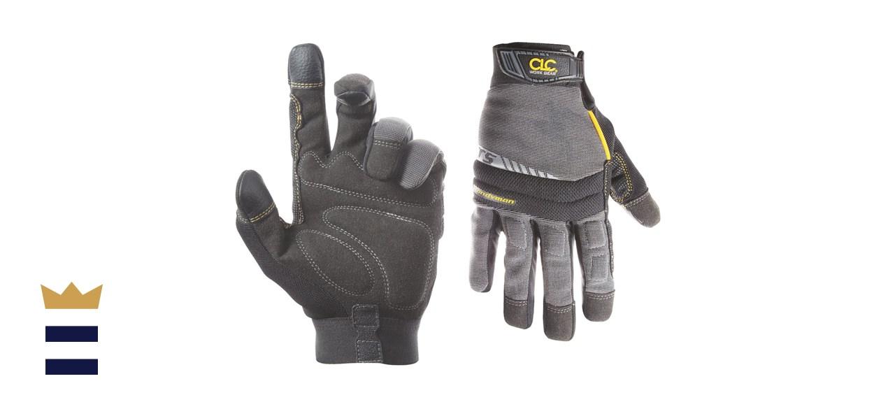 CLC Custom Leathercraft 125M Handyman Flex Grip Work Gloves