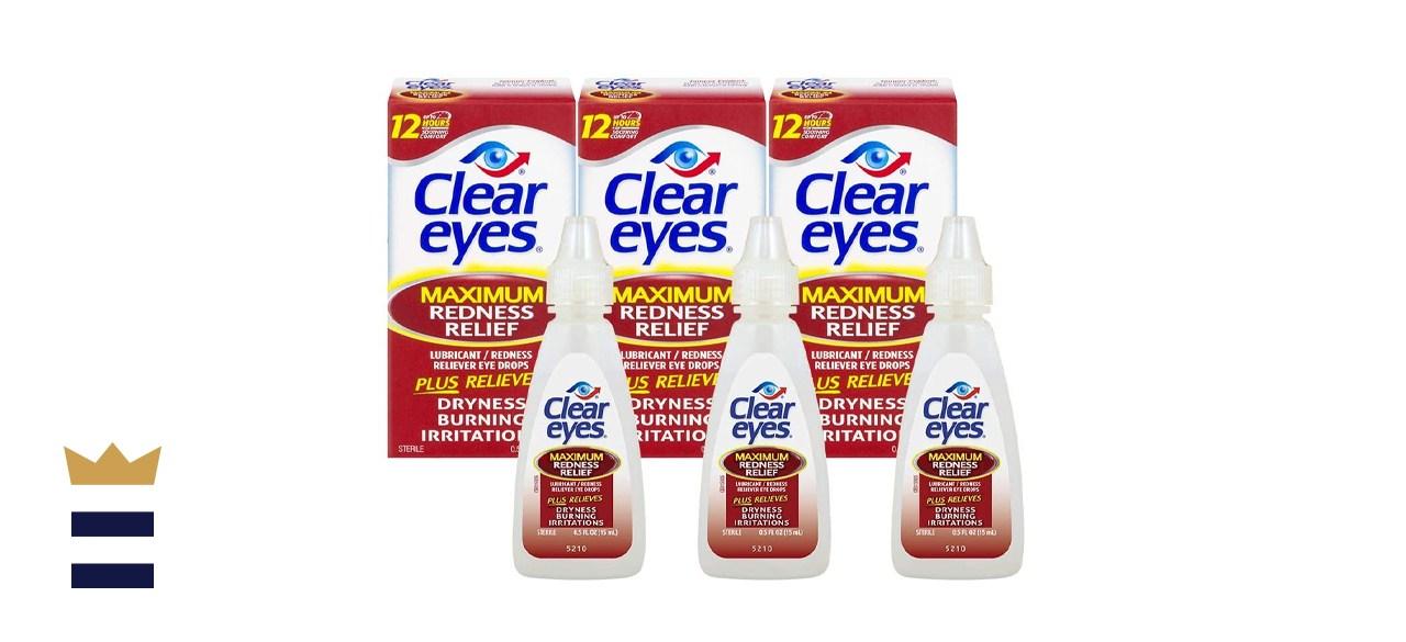 Clear Eyes Maximum Redness Relief Eye Drops
