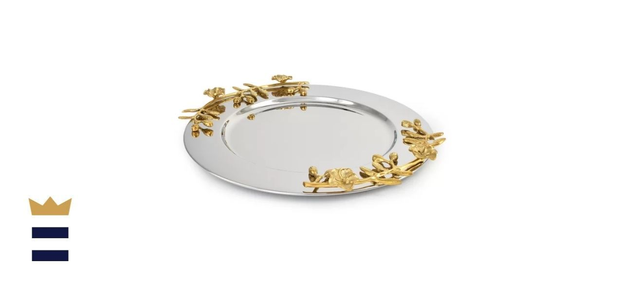 Cleorand Orchid Stem Serving Tray