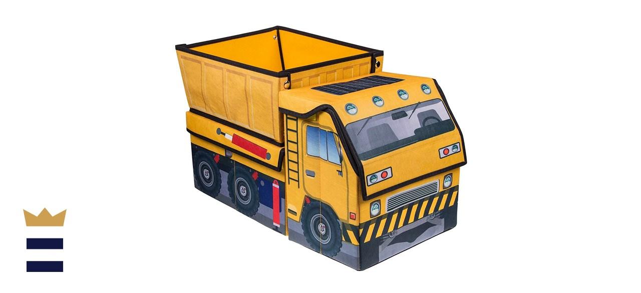 Clever Creations Kids Collapsible Storage Organizer Dump Truck