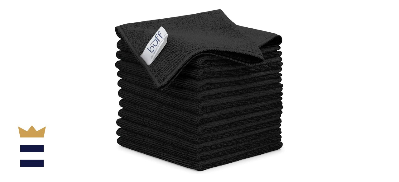 """12"""" x 12"""" Buff Pro Multi-Surface Microfiber Cleaning Cloths"""
