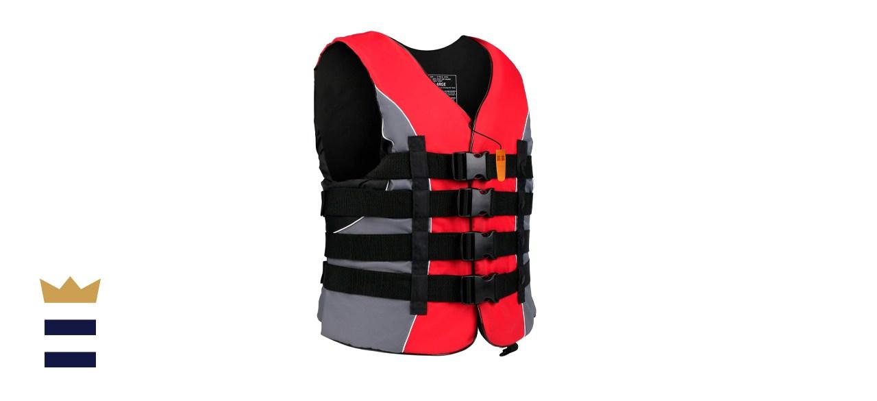 Coast Guard-approved life jacket