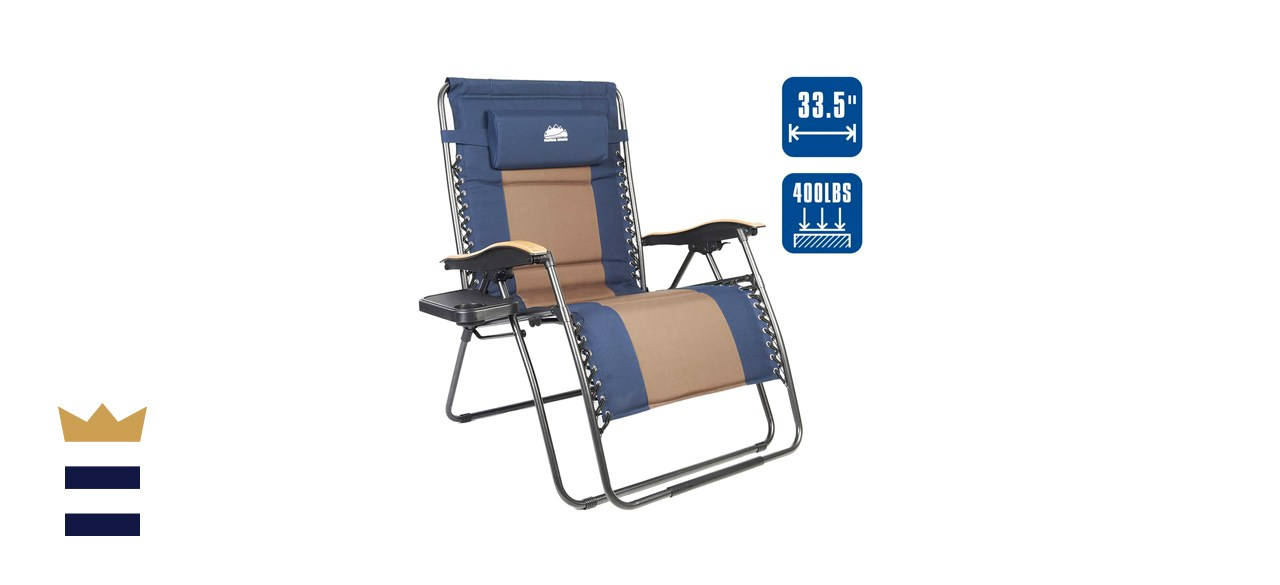 Coastrail Outdoor Reclining Patio Lounger Chair