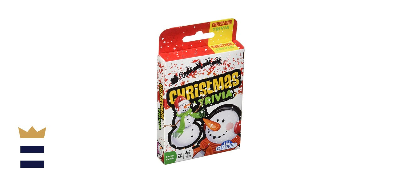 Cobble Hill Christmas Trivia Card Game (Travel Edition)