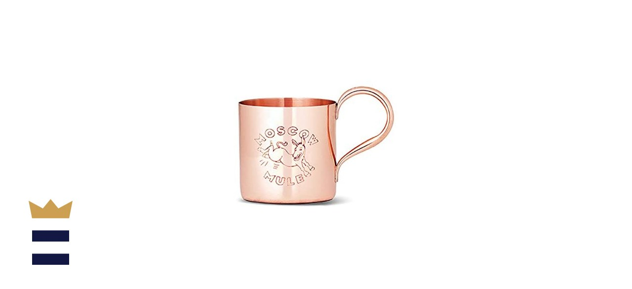 Cocktail Kingdom Engraved Copper Moscow Mule Mug