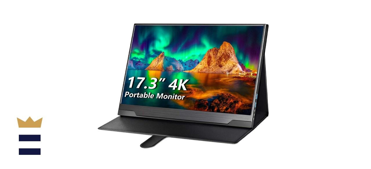 Cocopar 4k 17.3 inch portable monitor