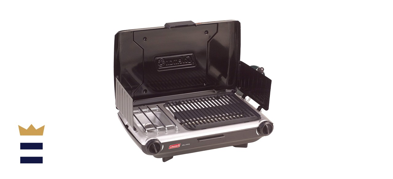 Coleman Camp Grill and Stove Combo