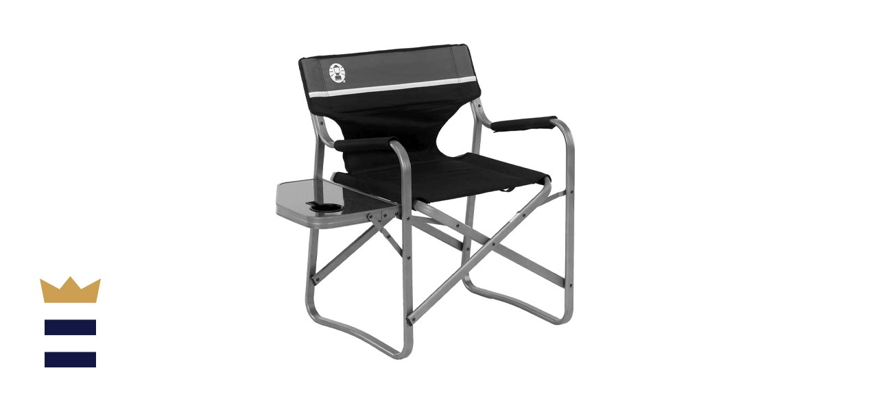 Coleman Camp Chair with Side Table
